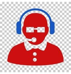 Female Operator Icon vector