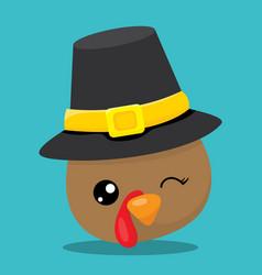 Gobble hat 05 vector