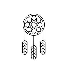 Native american indian design 04 vector