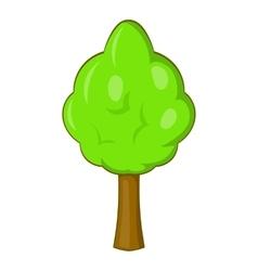 Park tree icon cartoon style vector