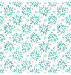 Seamless pattern with novel vector