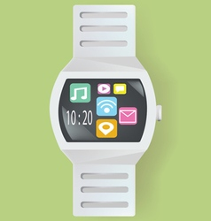 Smart watch concept vector image