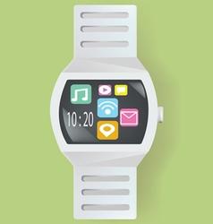 Smart watch concept vector