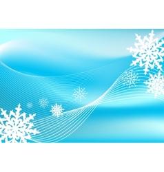 Snow blizzard background vector