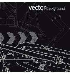 Technology background version 2 vector