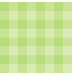 Tile green plaid background or wallpaper vector image