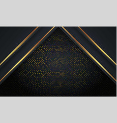 abstract luxury mesh background with hexagon vector image