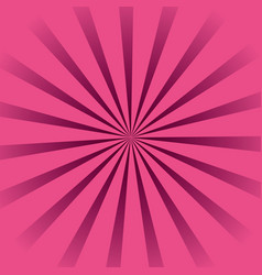 background pink sunburst vector image