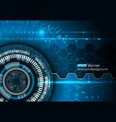 Background with futuristic elements vector image vector image