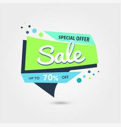 big sale 70 off template - modern vector image