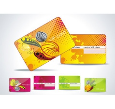 Business-Card or VIP-Card Set vector