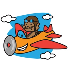 Cat Flying vector image