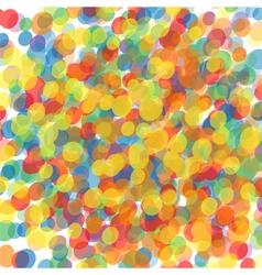Confetti drops vector