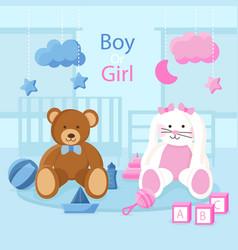 Gender reveal concept in flat design vector