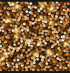 Glitter seamless texture admirable red gold vector