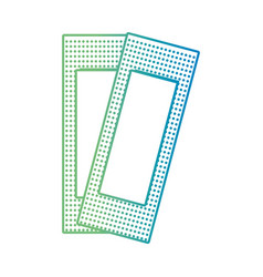 line aid adhesive band form vector image