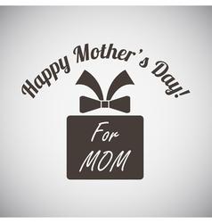 Mothers Day Emblem vector image