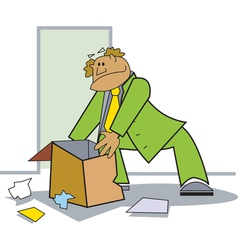 Moving house vector