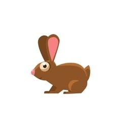 Rabbit Simplified Cute vector
