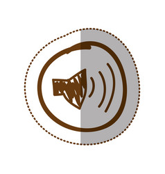Symbol volume technology icon vector