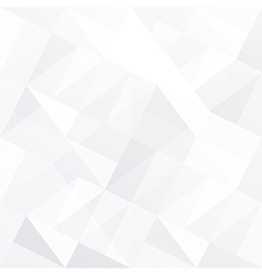 White triangle background abstract vector image