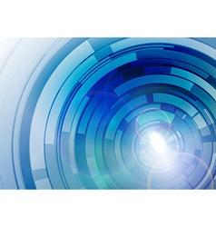 wheels blue vector image
