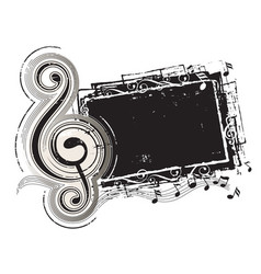 classic music vector image vector image