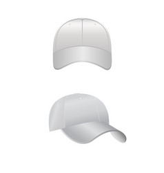 back front and side view vector image