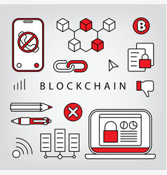 Blockchain vector
