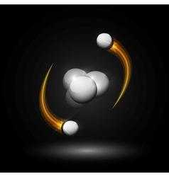 Helium atom vector