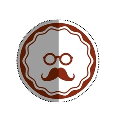 Hipster lifestyle symbol vector image