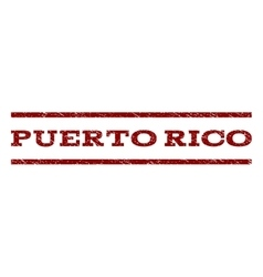 Puerto Rico Watermark Stamp vector