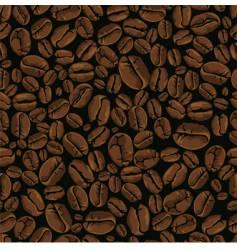 coffee bean seamless vector image