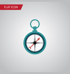 Isolated navigation flat icon measurement vector