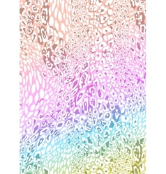 seamless leopard pattern vector image vector image
