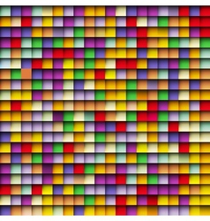 Abstract squares mosaic background vector image