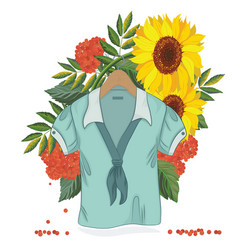 aut sale blouse vector image