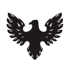 eagle icon isolated on white background design vector image