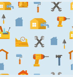 home and house repair service professional plumber vector image