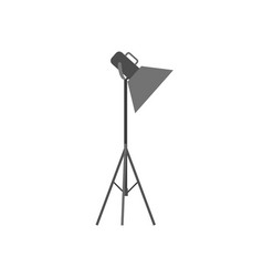 light projector or spotlight for photo studio vector image