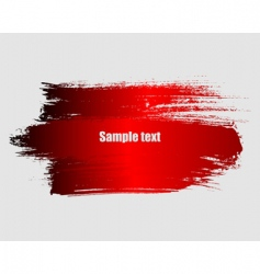 paint grunge background vector image vector image