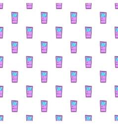 Door pattern cartoon style vector image vector image
