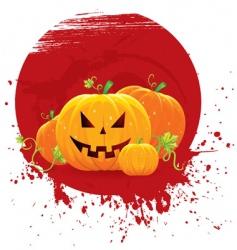 pumpkin blot vector image