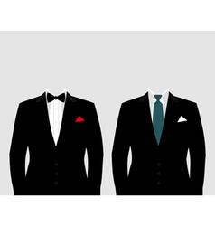Suit2 vector image