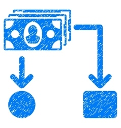 Cashflow Grainy Texture Icon vector image