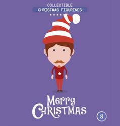 christmas characteravatar vector image