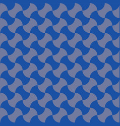 Geometric pattern in blue and grey vector