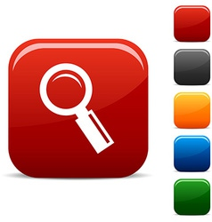 Searching icons vector image