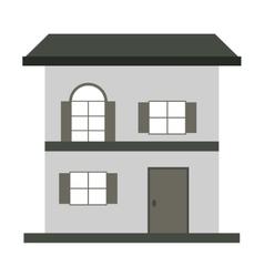 Small house icon vector