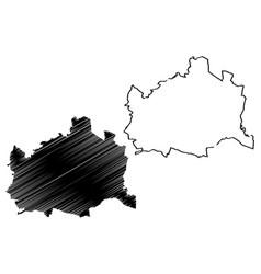Vienna map vector